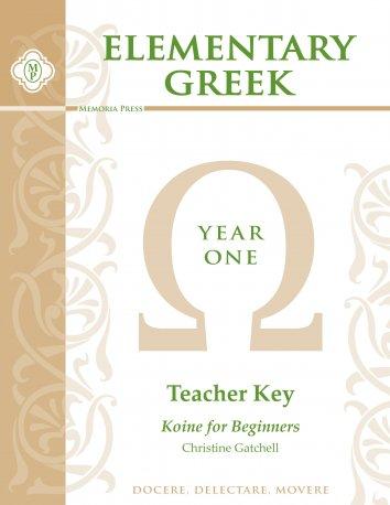 Elementary Greek Year 1 Teacher Key