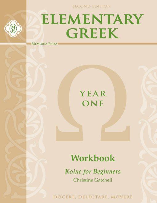 Elementary Greek Year 1 Workbook
