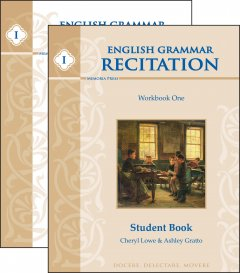 English Grammar Recitation Workbook One Set