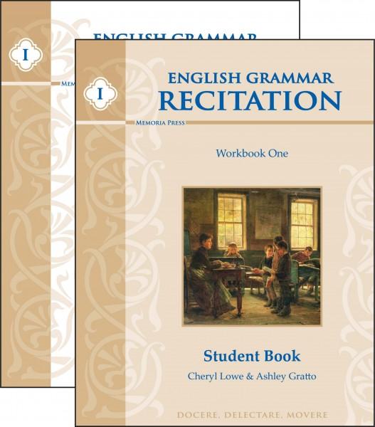 English Grammar Recitation Workbook One Set