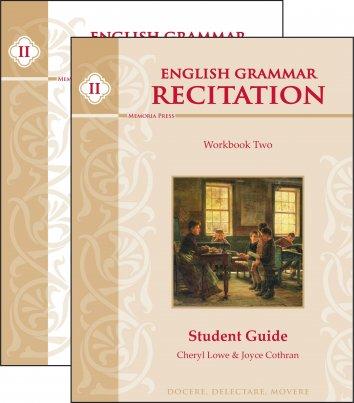 English Grammar Recitation Workbook Two Set