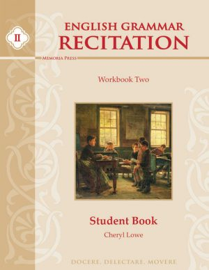 English Grammar Recitation Workbook Two Student Book