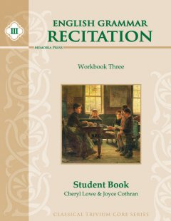 English Grammar Recitation Workbook Three Student Book