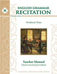 English Grammar Recitation Workbook Three Teacher Guide