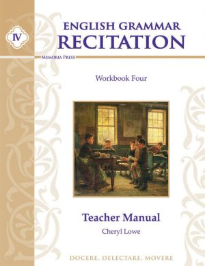 English Grammar Recitation Workbook Four Teacher Guide