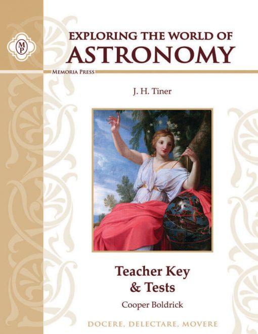 Exploring the World of Astronomy Teacher Key & Tests
