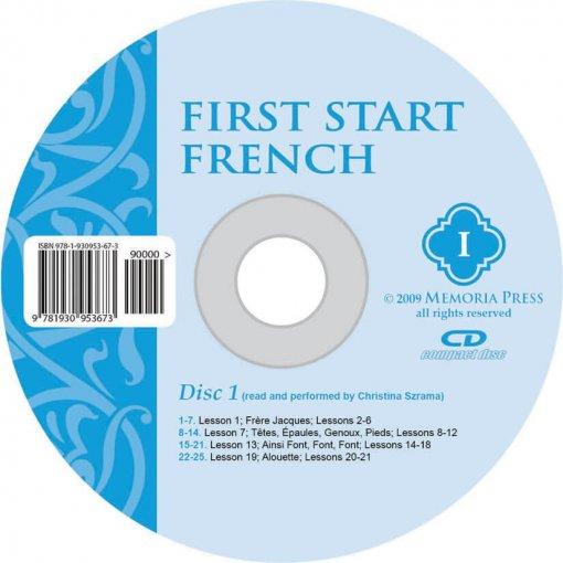 First Start French I CD