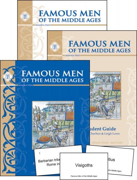 Famous Men of Middle Ages Set