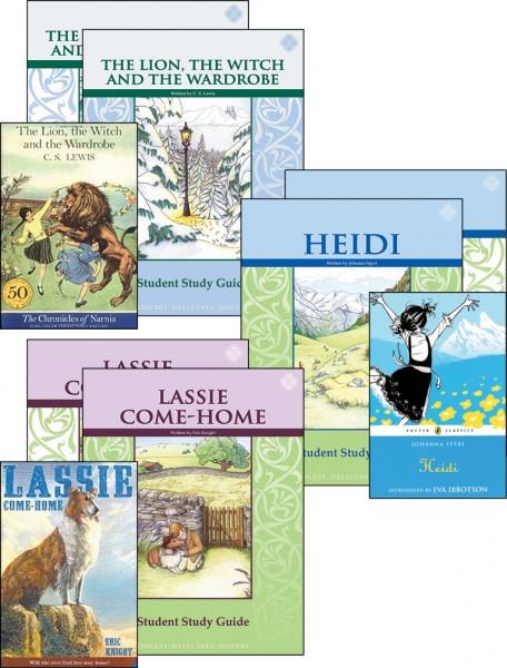 Fifth Grade Literature Guide Set (vertical)