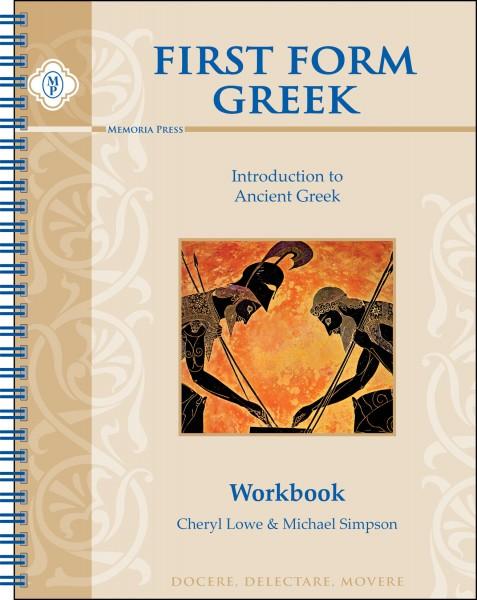 First Form Greek Workbook