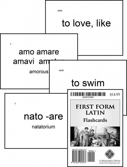 First Form Latin Flashcards