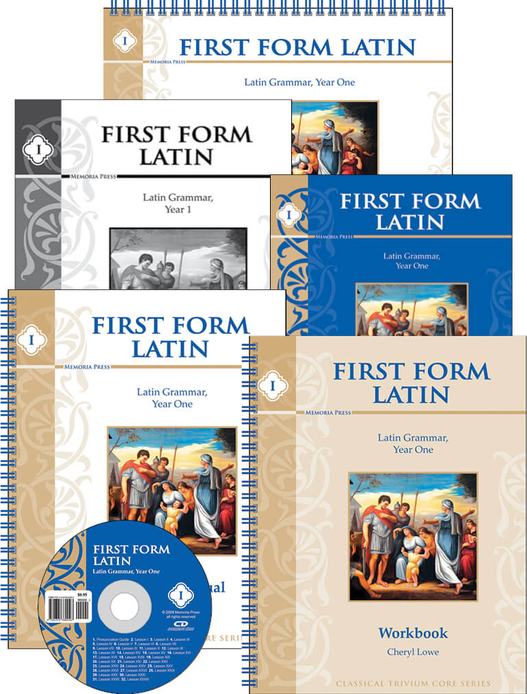 First Form Latin Basic Set | Memoria Press - Classical Education