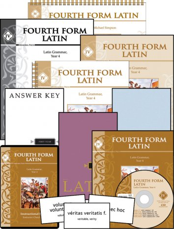 Fourth Form Latin Complete Set