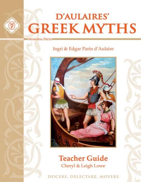 D'Aulaires' Greek Myths Teacher Guide