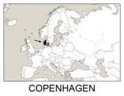 Geography Flashcards - Copenhagen
