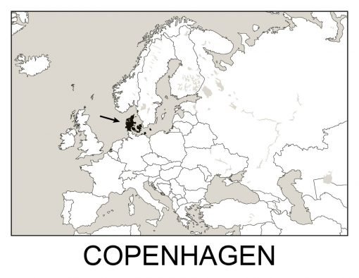 Geography Flashcards - Copenhagen