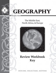 Geography I Review Key