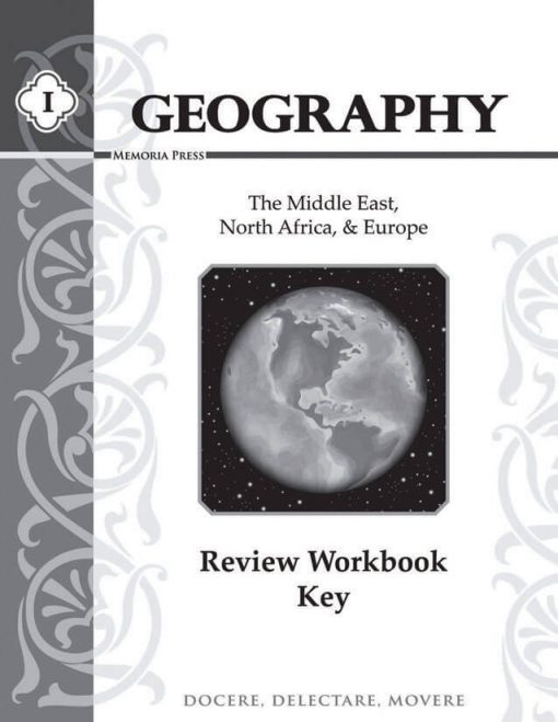 Geography I Review: Teacher Key