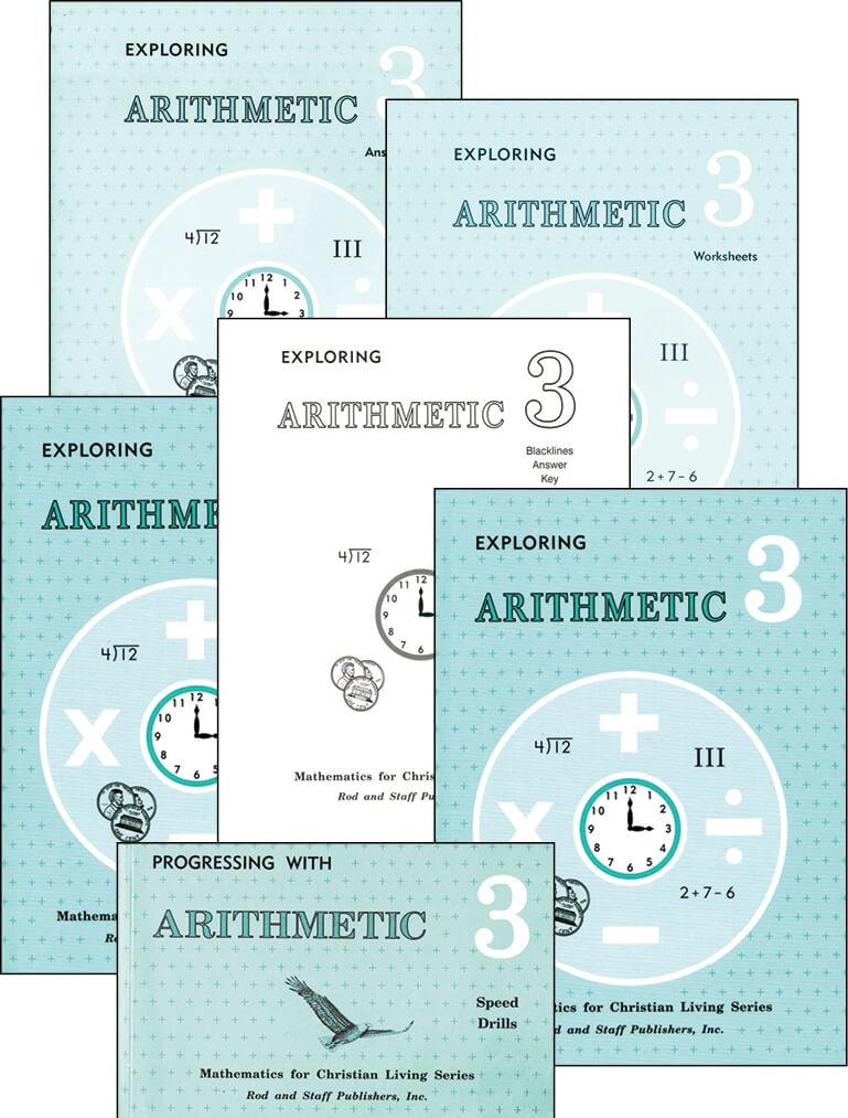 Rod & Staff Grade 3 Math Set | Memoria Press