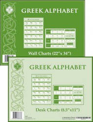 Greek Alphabet Charts