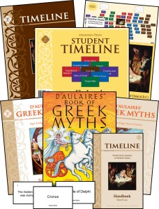 Greek Myths & Timeline Program Module (two year pace) (3-6)
