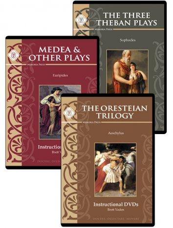 Greek Tragedies DVDs set