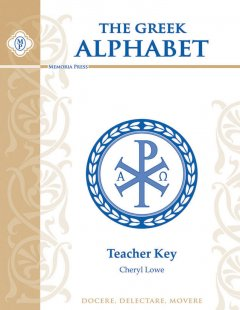 Greek Alphabet Teacher Key