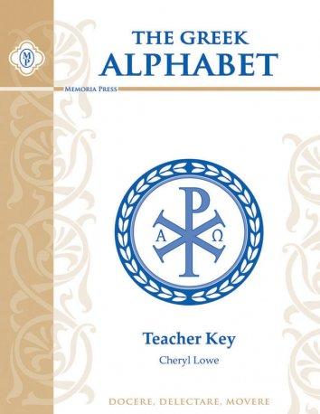 Greek Alphabet Teacher Key