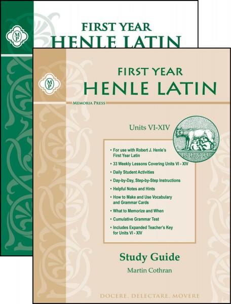 Henle Latin I, Units 6-14 Set