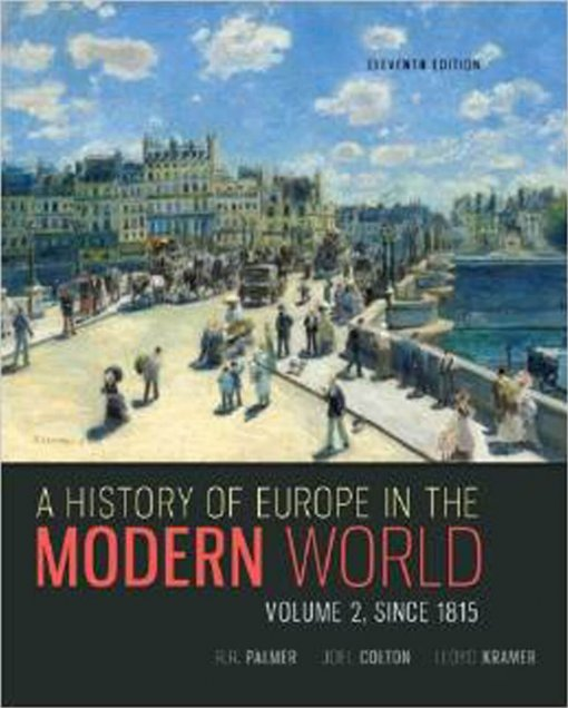 A History of Europe in the Modern World Vol. 2