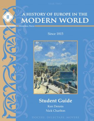 A History of Europe in the Modern World Vol. 2 Student Guide