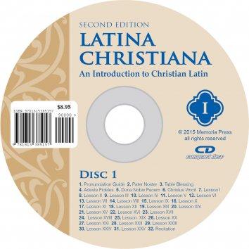 Latina Christiana I Pronunciation CD