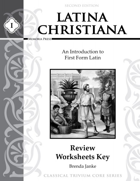 Latina Christiana Review Worksheets Key, Second Edition