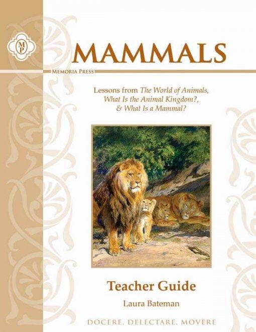 Mammals Teacher Guide