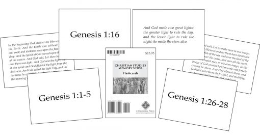Memory Verse Flashcards