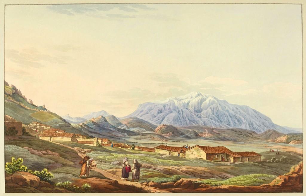 Mont_Parnasse,_par_Edward_Dodwell,_BNF_Gallica
