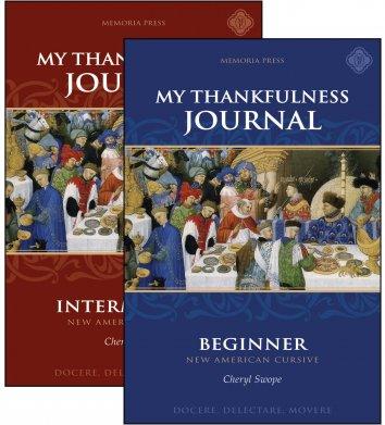 My Thankfulness Journals