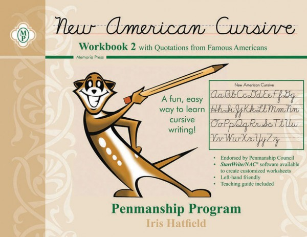 New American Cursive 2 (Famous Americans)