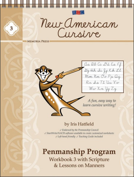 New American Cursive 3 (Scripture)