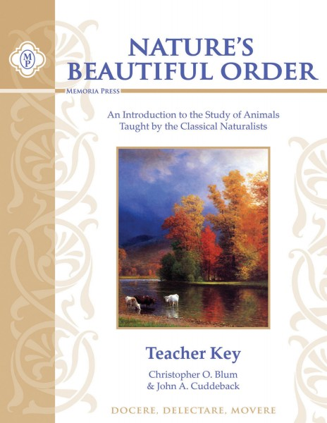 Nature's Beautiful Order Teacher Key