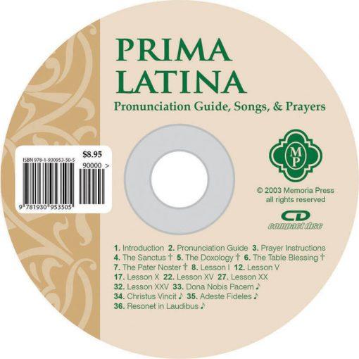 Prima Latina Pronunciation CD