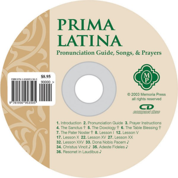 Prima Latina Pronunciation CD