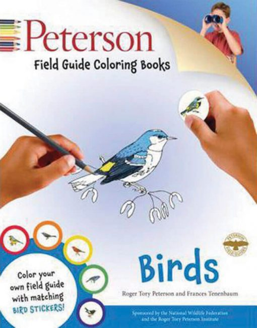 Peterson Color-In Book: Birds