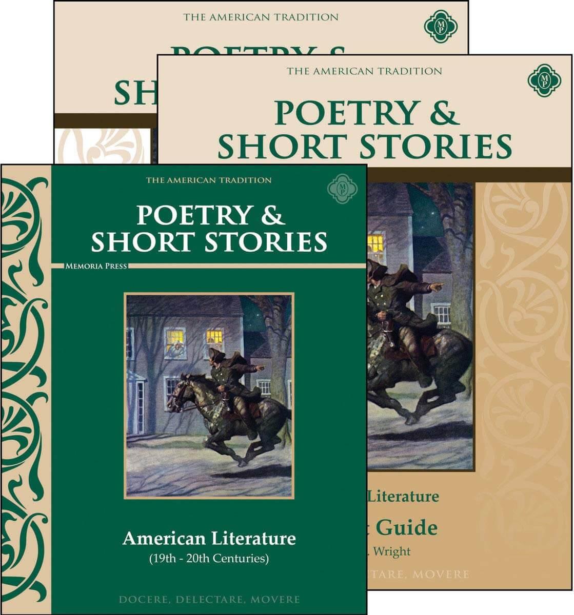 Worksheets American Literature Worksheets poetry short stories american literature set memoria press set