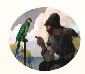 Robinson-and-Parrot