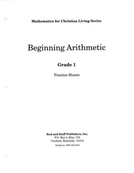 Rod-Staff_Math1_PracticeSheets_3rd-ed
