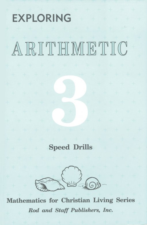 Rod & Staff Grade 3 Math Speed Drills