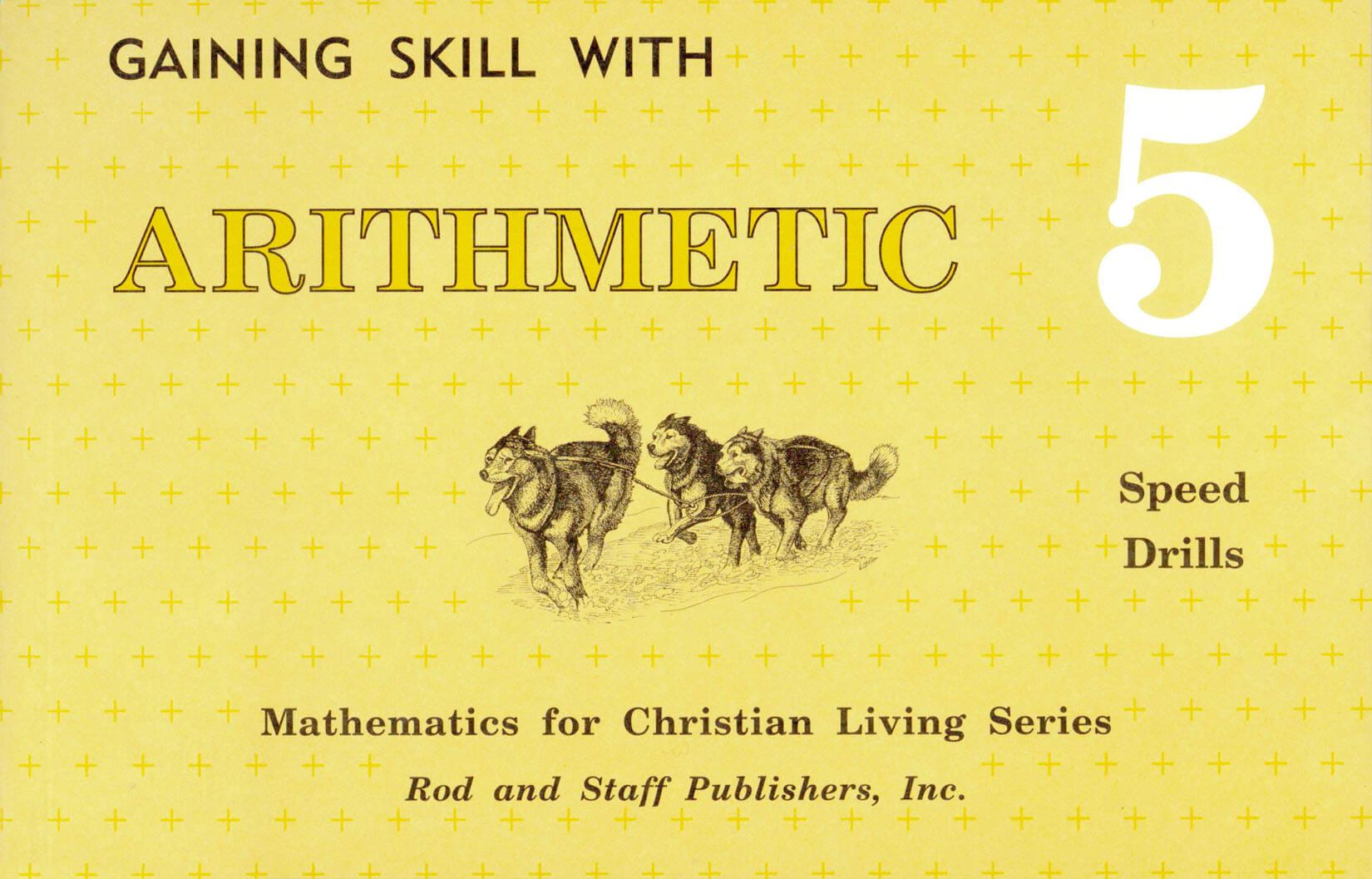 Rod & Staff Grade 5 Math: Speed Drills | Memoria Press