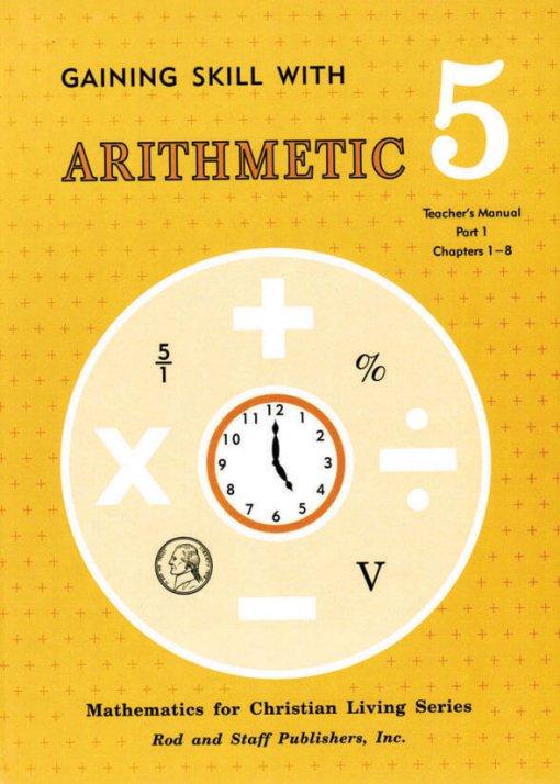Rod & Staff Grade 5 Math Teacher's Manual Part 1