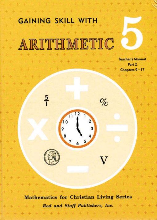 Rod & Staff Grade 5 Math Teacher's Manual Part 2